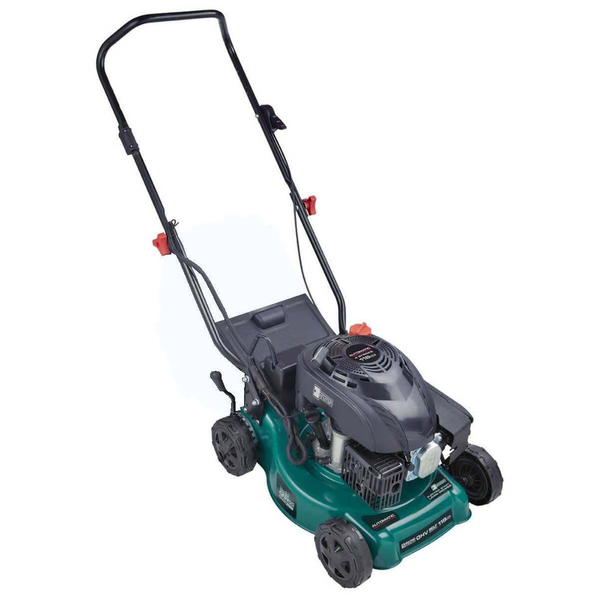 AUTOMATIC Petrol  118CC  4-Stroke Lawn Mower No Catcher (Factory Second)