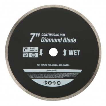 7 in. (180mm) Diamond Tile Saw Blade (wet Or Dry)