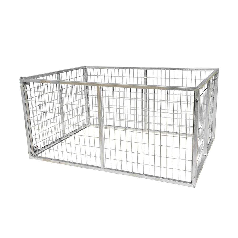 GALVANISED TRAILER CAGE FOR 7X5 TRAILER, 900MM HIGH