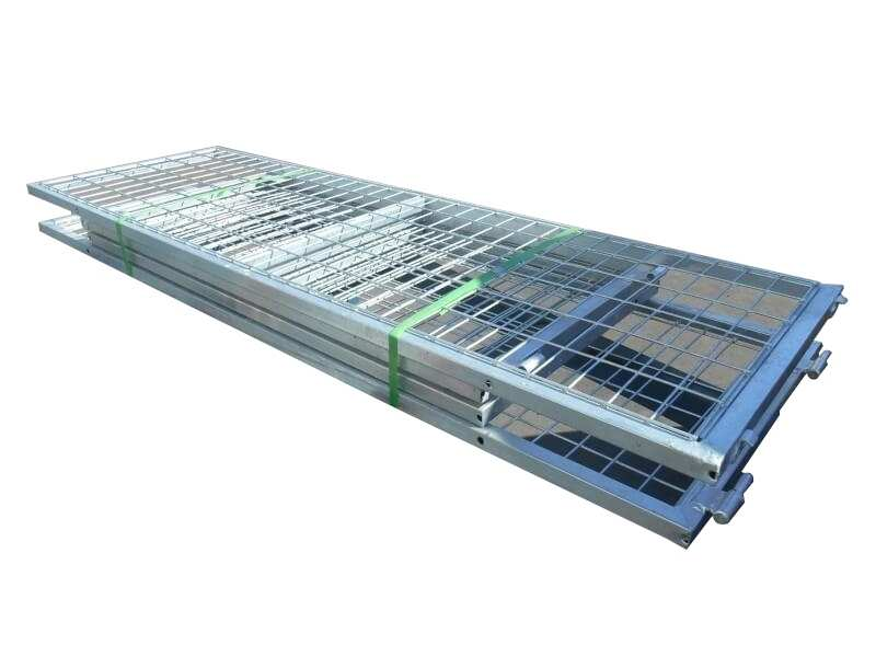 GALVANISED TRAILER CAGE FOR 7X5 TRAILER, 600MM HIGH