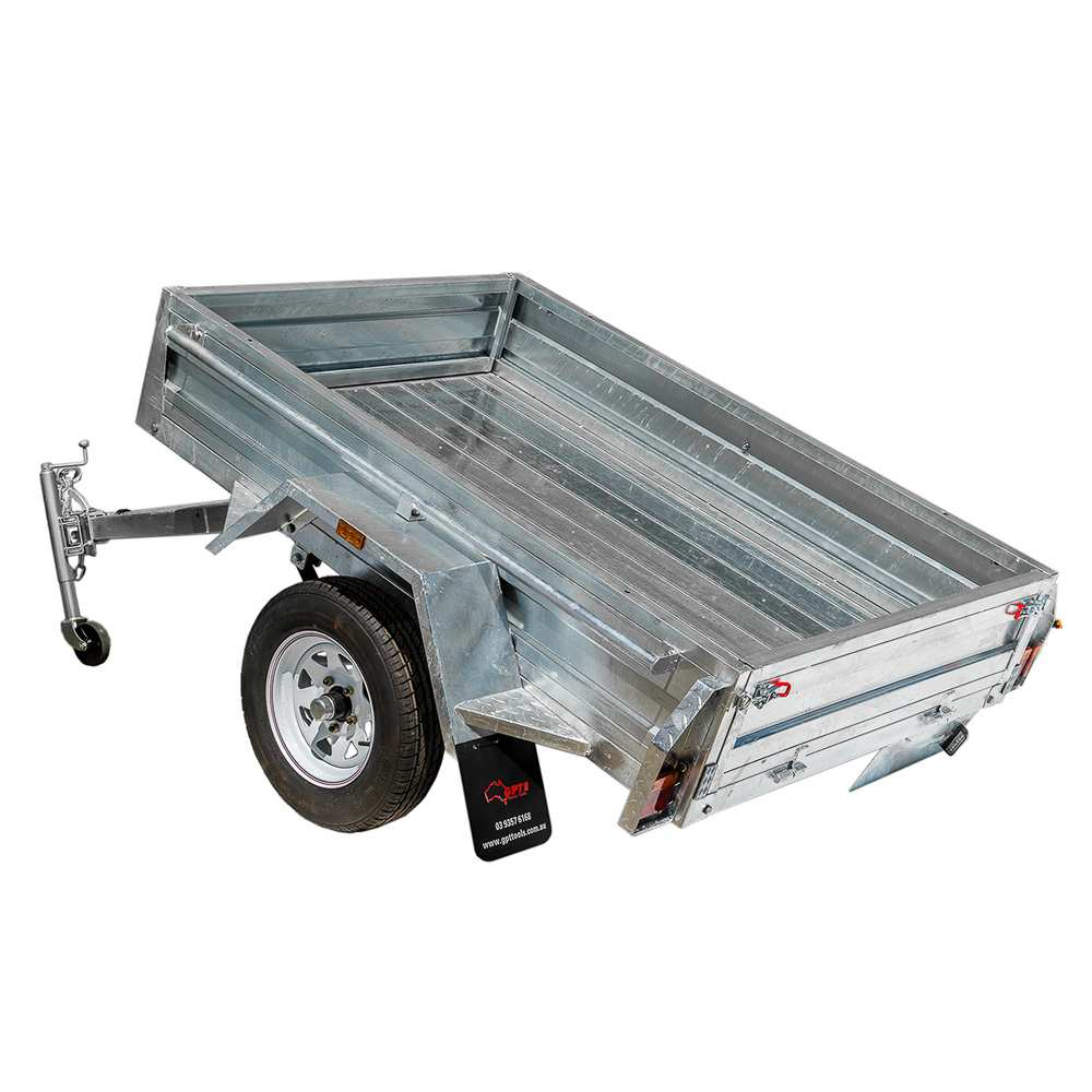 6X4 BOX TRAILER & TIPPER |  GALVANISED