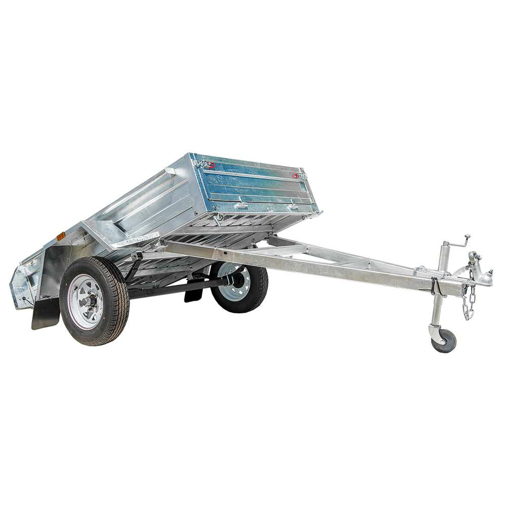 8X5 BOX TRAILER & TIPPER | GALVANISED