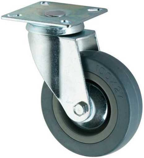 100 x 27 Swivel Casters Wheels
