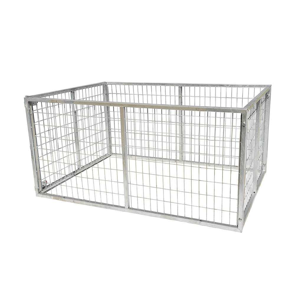 GALVANISED TRAILER CAGE FOR 7X4 TRAILER, 600MM HIGH