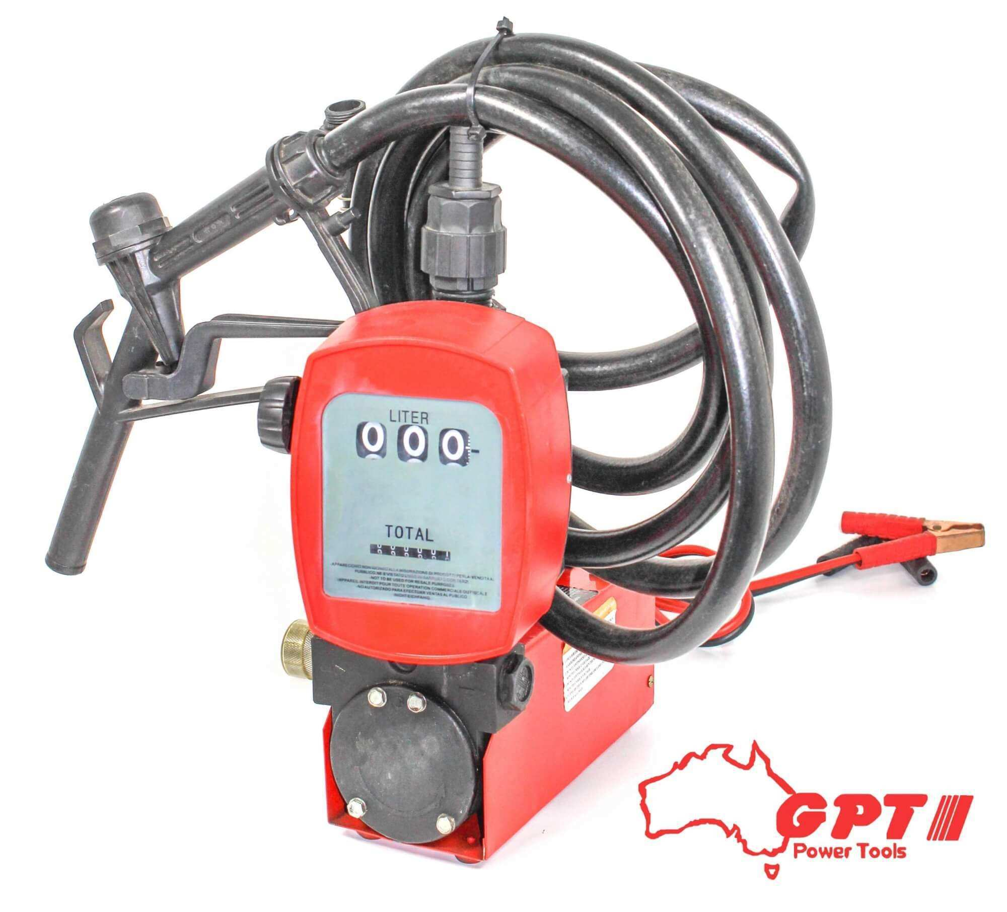 GPT 180W OIL / DIESEL PUMP WITH GAUGE - YB1224