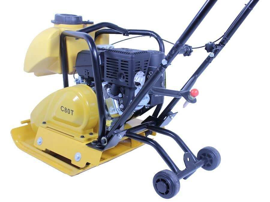 208CC PLATE COMPACTOR C90 | 6HP KOHLER ENGINE WITH WATER TANK