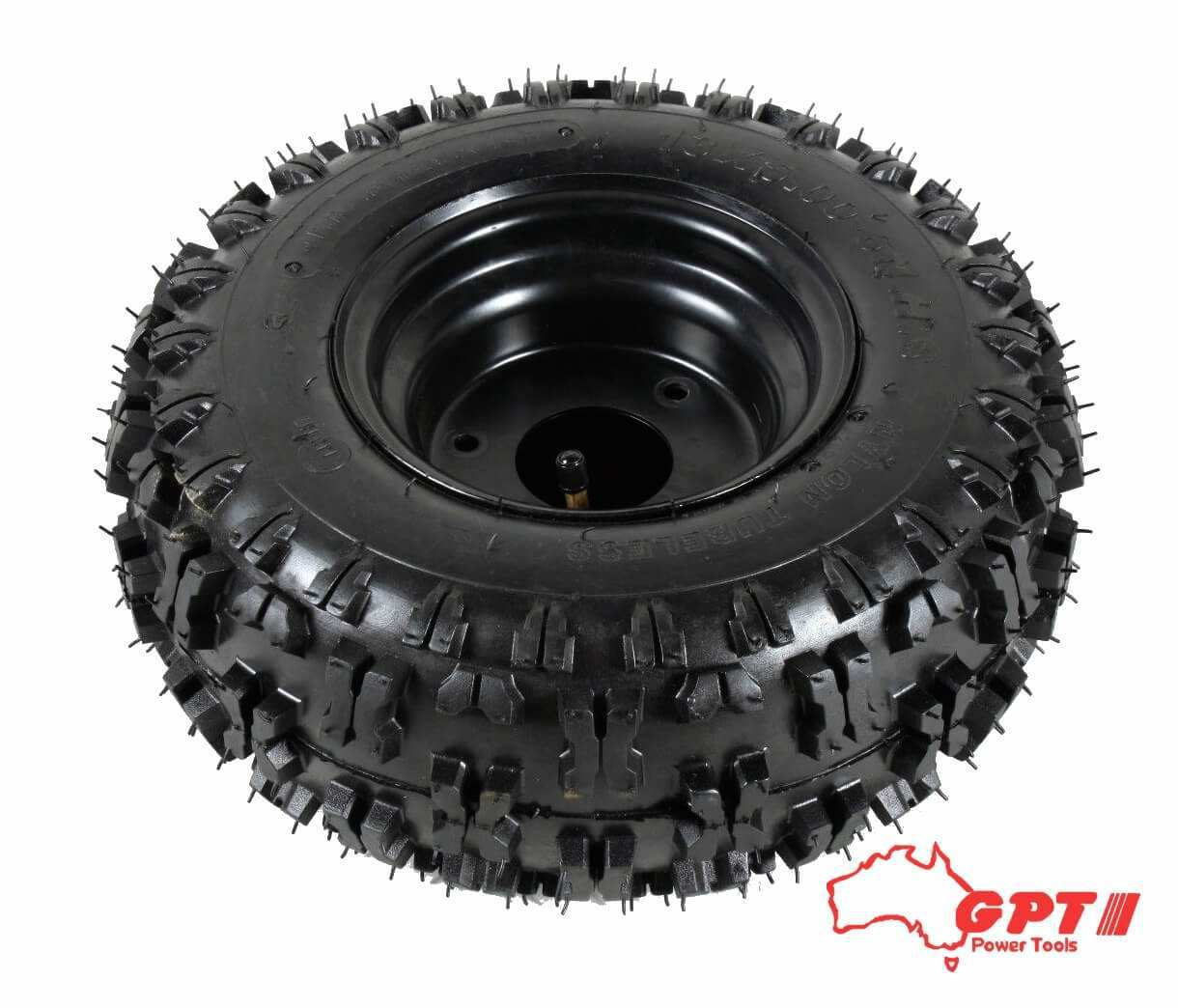 GPT NEW 6″ GO KART WHEEL AND TYRE WITH RIM AND TUBE 13 X 5.0 – 6X3.5