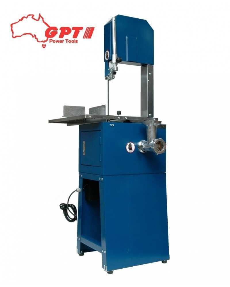 10 inch meat cutting bandsaw with mincer