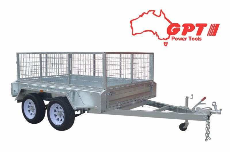 8X5 TANDEM TRAILER | 900MM CAGE | GALVANISED | 1 YEAR WARRANTY | VIN NUMBER