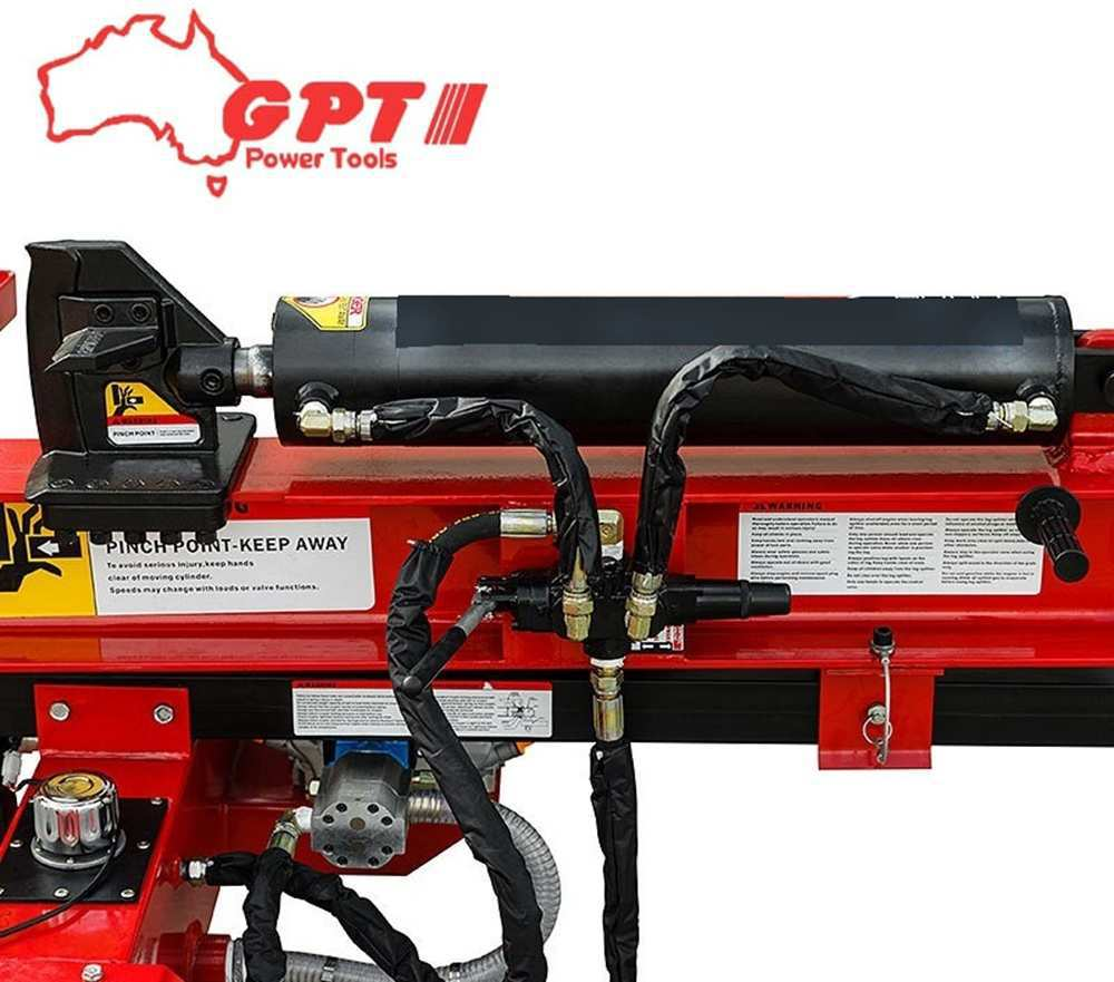 58 TON PETROL LOG SPLITTER | 15HP  ENGINE | ELECTRIC START | HYDRAULIC