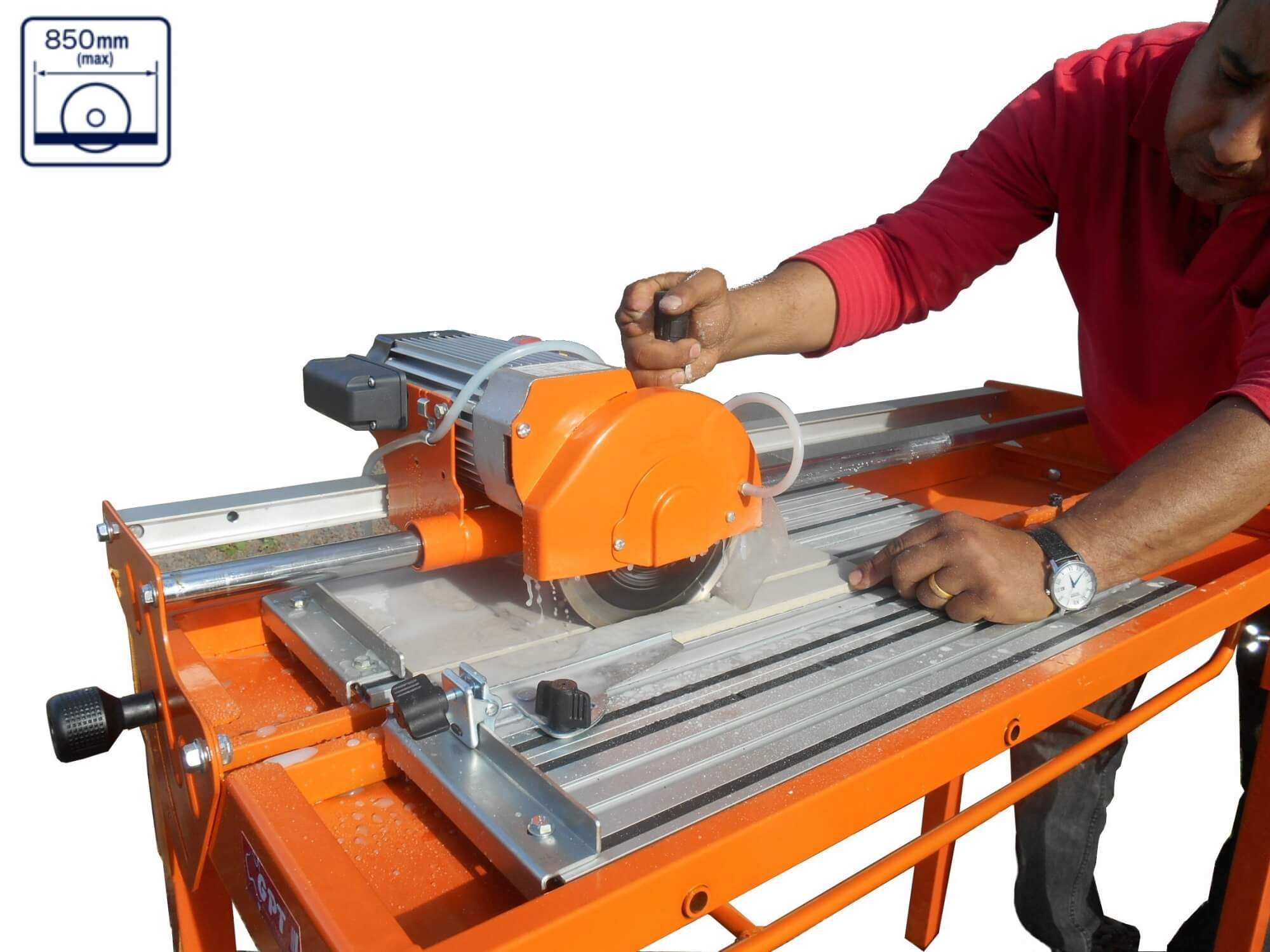 ELECTRIC WET/DRY BRICK CONCRETE TILE SAW TILE CUTTER MACHINE 1 M| 7