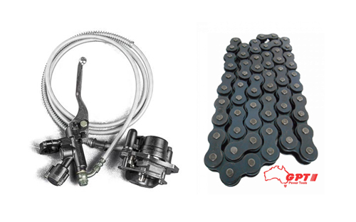 SPARE PARTS FOR GO KART